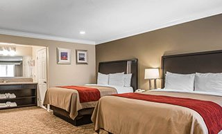 Quality Inn Downey Hotel Rooms