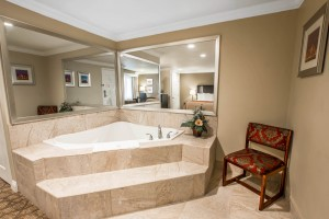 In-Room Hot Tub with King Bed